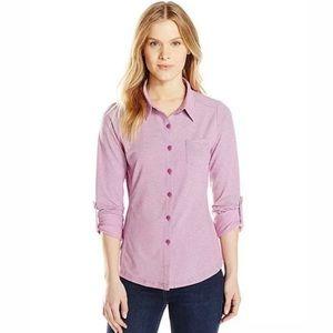 Prana Kinley Shirt Button Down Roll Tab Sleeves